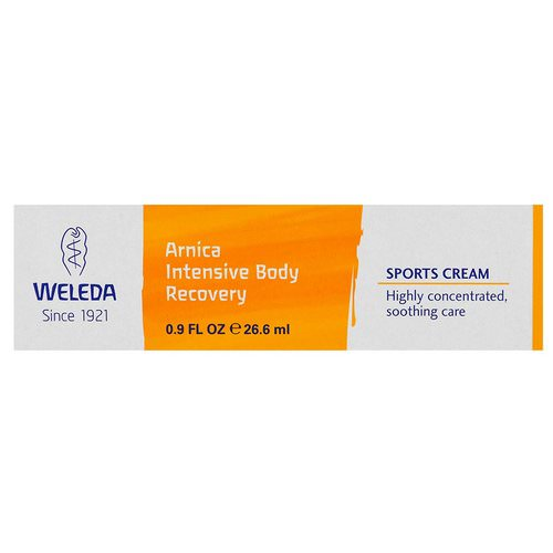 Weleda, Arnica Intensive Body Recovery, Sports Cream, 0.9 fl oz (26.6 ml) Review