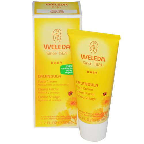 Weleda, Baby, Calendula Face Cream, 1.7 fl oz (50 ml) Review