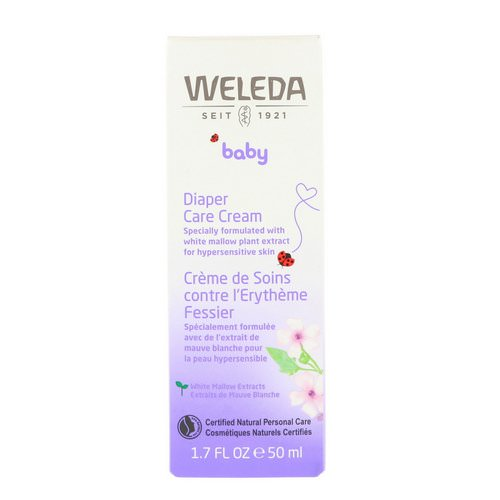 Weleda, Baby, Diaper Care Cream, 1.7 fl oz (50 ml) Review