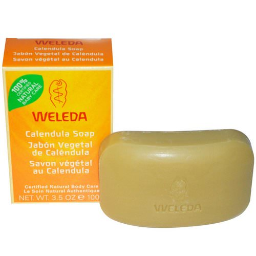 Weleda, Calendula Soap, 3.5 oz (100 g) Review