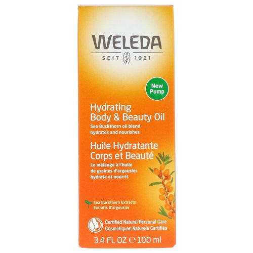 Weleda, Hydrating Body & Beauty Oil, Sea Buckthorn Extracts, 3.4 fl oz (100 ml) Review