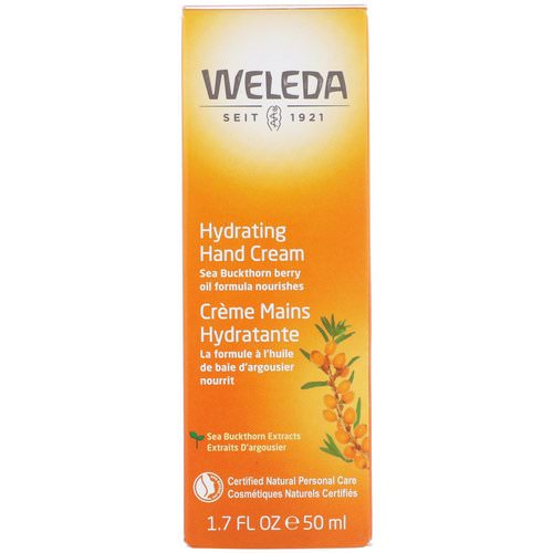 Weleda, Hydrating Hand Cream, 1.7 oz (50 ml) Review