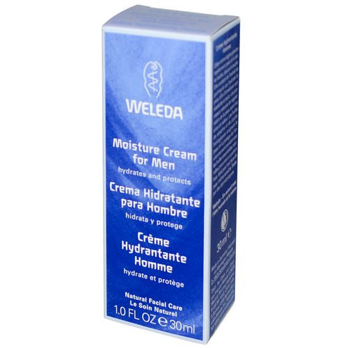 Weleda, Moisture Cream for Men, 1.0 fl oz (30 ml) Review