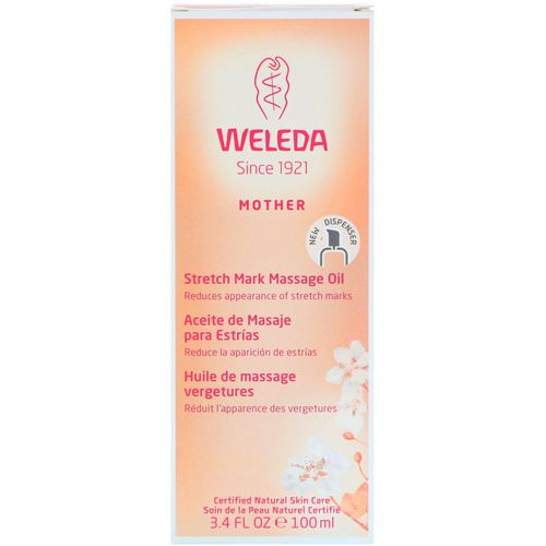Weleda, Mother, Stretch Mark Massage Oil, 3.4 fl oz (100 ml) Review