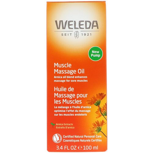 Weleda, Muscle Massage Oil, Arnica Extracts, 3.4 fl oz (100 ml) Review