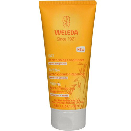 Weleda, Oat Replenishing Conditioner, 6.8 fl oz (200 ml) Review