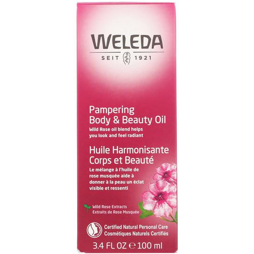 Weleda, Pampering Body & Beauty Oil, Wild Rose Extracts, 3.4 fl oz (100 ml) Review