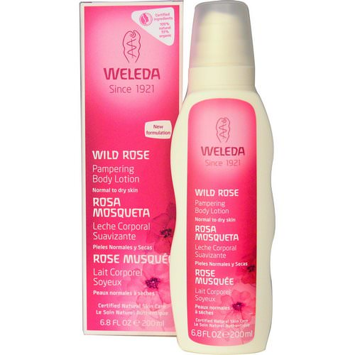 Weleda, Pampering Body Lotion, Wild Rose, 6.8 fl oz (200 ml) Review