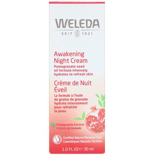 Weleda, Pomegranate Firming Night Cream, 1.0 fl oz (30 ml) Review