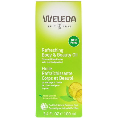 Weleda, Refreshing Body & Beauty Oil, Citrus Extracts, 3.4 fl oz (100 ml) Review