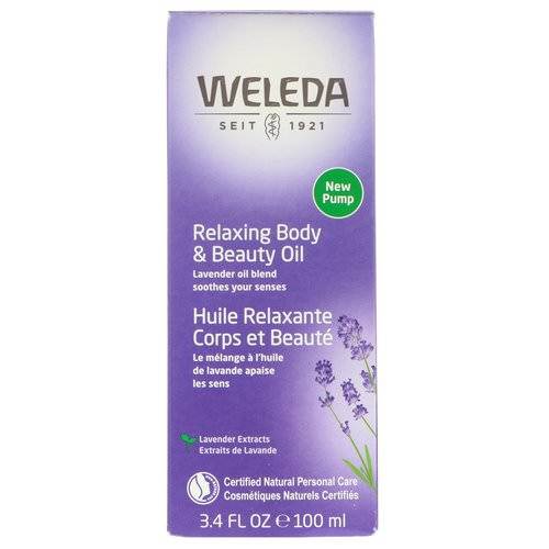 Weleda, Relaxing Body & Beauty Oil, Lavender Extracts, 3.4 fl oz (100 ml) Review