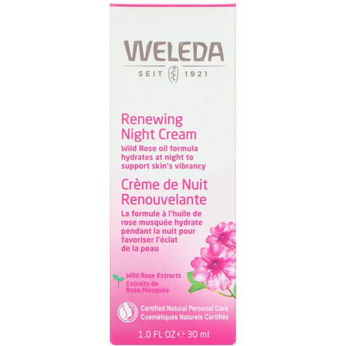 Weleda, Renewing Night Cream, Wild Rose Extracts, 1.0 fl oz (30 ml) Review