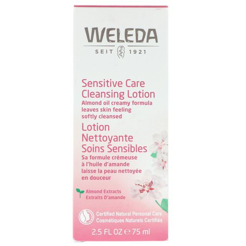Weleda, Sensitive Care Cleansing Lotion, Almond Extracts, 2.5 fl oz (75 ml) Review