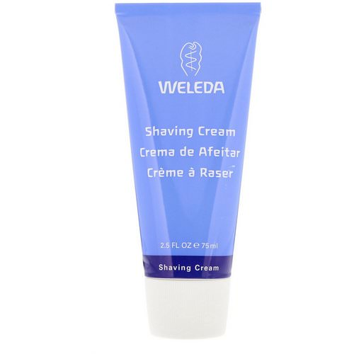 Weleda, Shaving Cream, 2.5 fl oz (75 g) Review