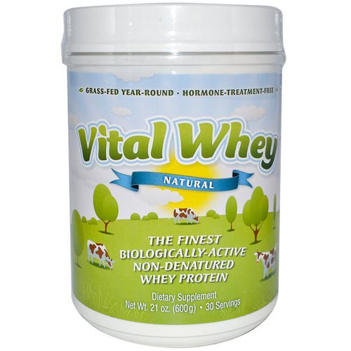 Well Wisdom, Vital Whey, Natural, 1.31 lbs (600 g) Review
