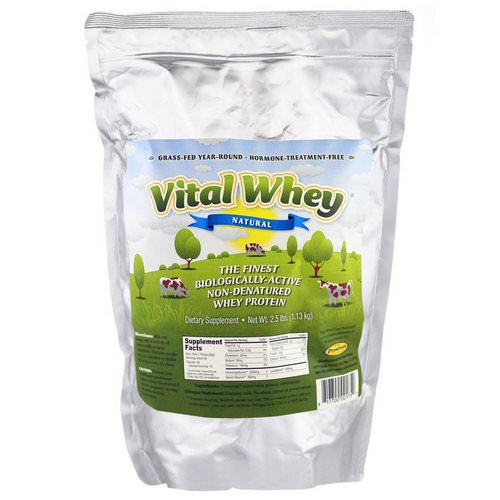 Well Wisdom, Vital Whey, Natural, 2.5 lbs (1.13 kg) Review