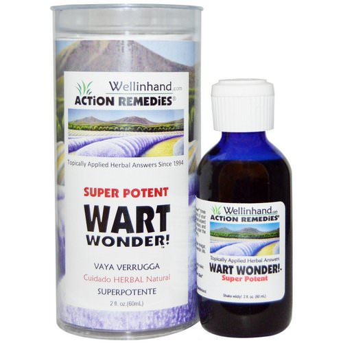 Wellinhand Action Remedies, Super Potent, Wart Wonder! 2 fl oz (60 ml) Review