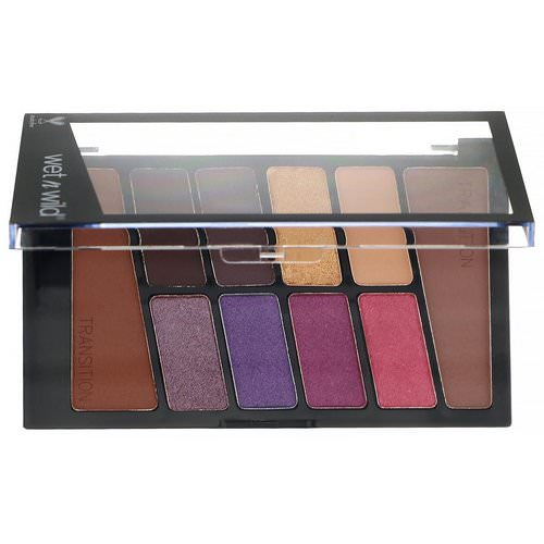 Wet n Wild, Color Icon Eyeshadow Palette, 761B V.I. Purple, 0.35 oz (10 g) Review