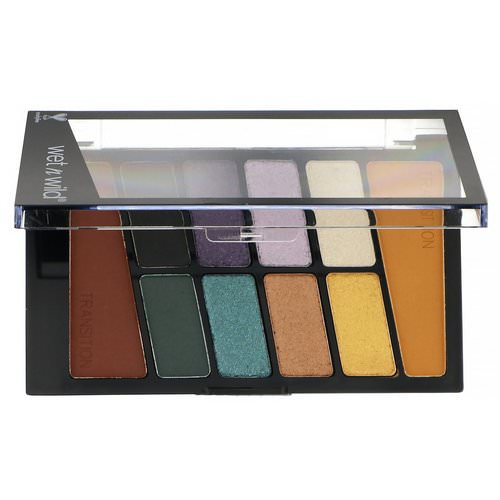 Wet n Wild, Color Icon Eyeshadow Palette, 762C Cosmic Collision, 0.35 oz (10 g) Review