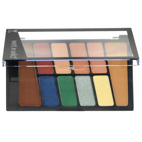 Wet n Wild, Color Icon Eyeshadow Palette, 763D Stop Playing Safe, 0.35 oz (10 g) Review
