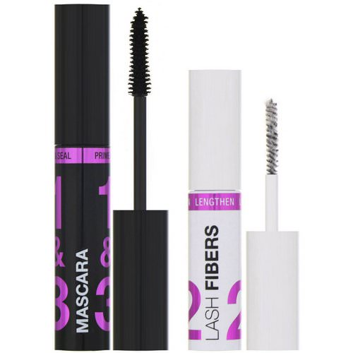 Wet n Wild, Lash-O-Matic Mascara + Fiber Extension Kit, Very Black, 0.37 fl oz (11 ml) Review
