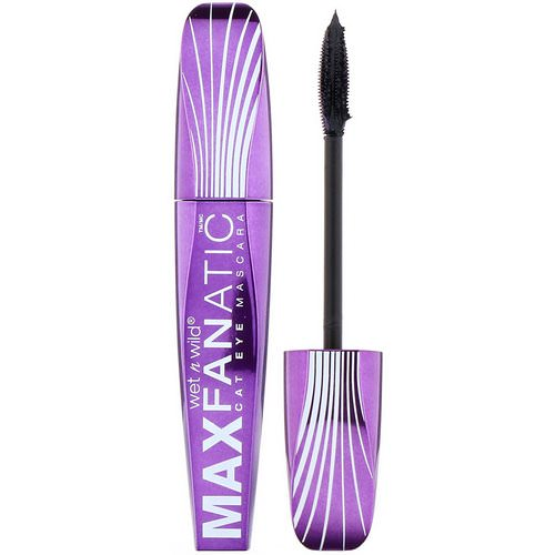 Wet n Wild, Max Fanatic Mascara, Black Cat, 0.27 fl oz (8 ml) Review