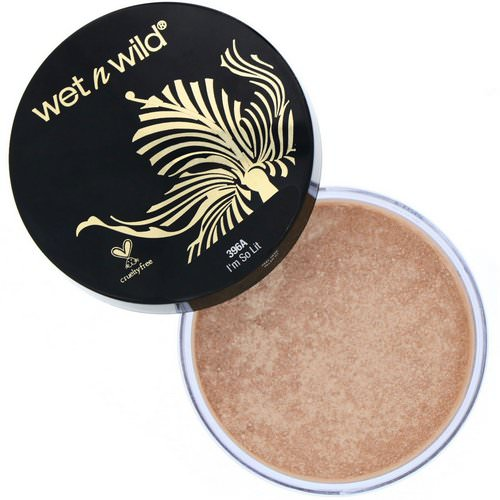 Wet n Wild, MegaGlo Loose Highlighting Powder, I'm So Lit, 0.28 oz (8 g) Review
