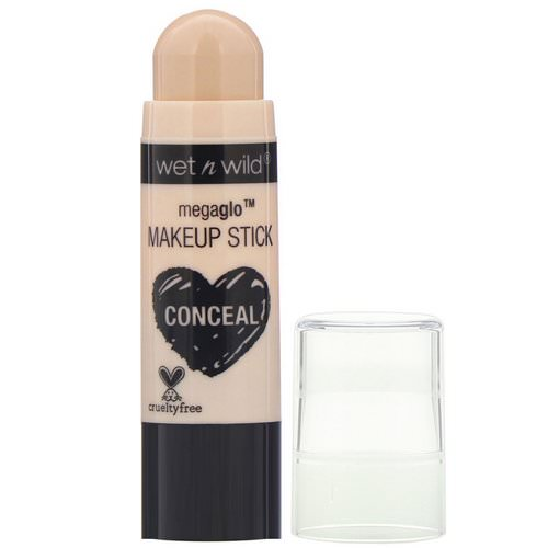 Wet n Wild, MegaGlo Makeup Stick, Conceal, Follow Your Bisque, 0.21 oz (6 g) Review