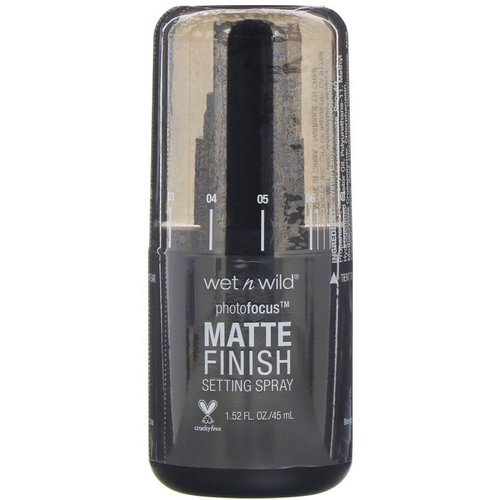 Wet n Wild, PhotoFocus, Matte Finish Setting Spray, Matte Appeal, 1.52 fl oz (45 ml) Review