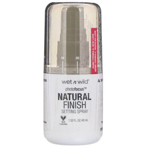 Wet n Wild, PhotoFocus Natural Finish Setting Spray, Seal the Deal, 1.52 fl oz (45 ml) Review