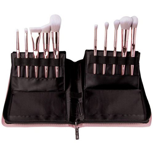 Wet n Wild, Pro Line Brush Set, 10 Piece Brush Collection + Limited Edition Brush Case Review