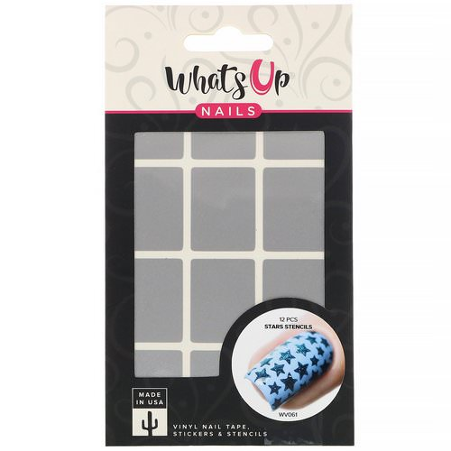 Whats Up Nails, Stars Stencils, 12 Pieces Review