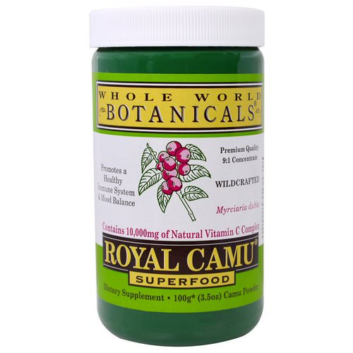 Whole World Botanicals, Royal Camu Powder, 3.5 oz (100 g) Review