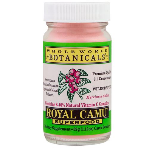 Whole World Botanicals, Royal Camu Superfood, 1.12 oz (32 g) Review