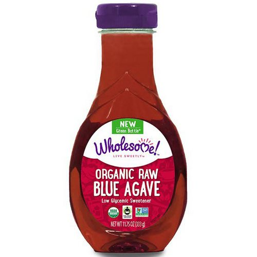 Wholesome, Organic Raw Blue Agave, 11.75 oz (333 g) Review