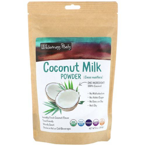 Wilderness Poets, Coconut Milk Powder, 8 oz (226.8 g) Review