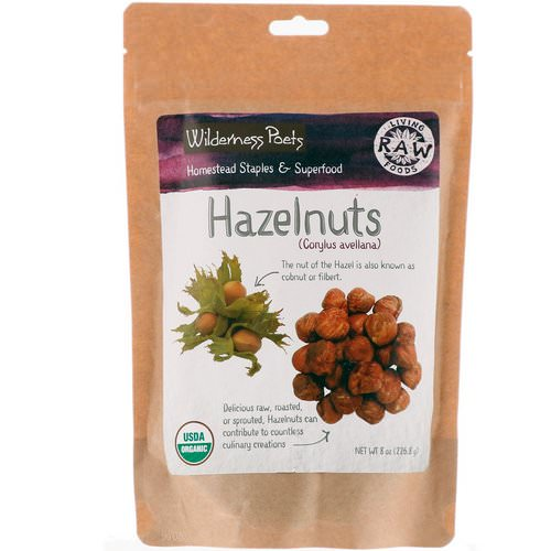 Wilderness Poets, Hazelnuts, 8 oz (226.8 g) Review