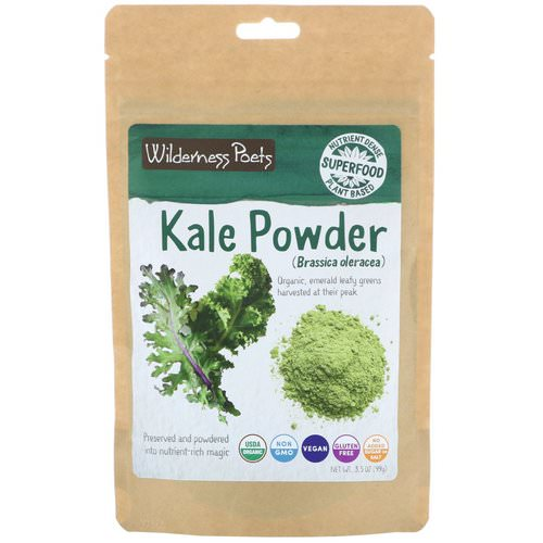 Wilderness Poets, Kale Powder, 3.5 oz (99 g) Review
