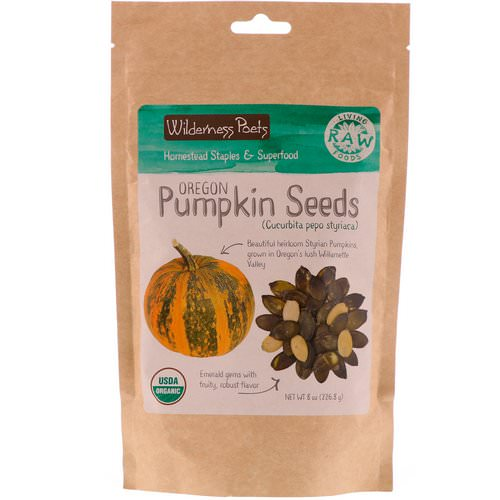 Wilderness Poets, Oregon Pumpkin Seeds, 8 oz (226.8 g) Review
