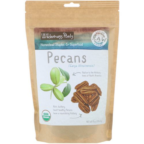 Wilderness Poets, Organic Pecans, 8 oz (226.8 g) Review