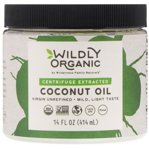 Wildly Organic, Centrifuge Extracted Coconut Oil, 14 fl oz (414 ml) Review
