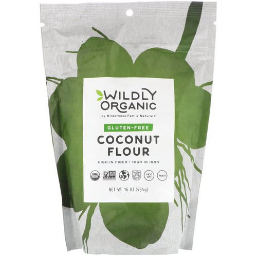 Wildly Organic, Gluten-Free Coconut Flour, 16 oz (454 g) Review