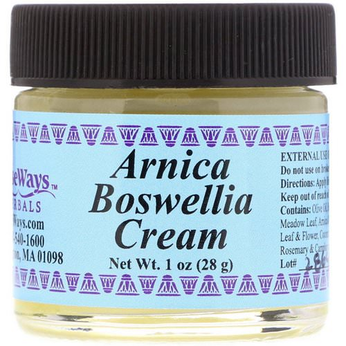 WiseWays Herbals, Arnica Boswellia Cream, 1 oz (28 g) Review