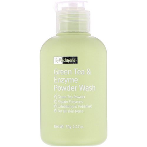 Wishtrend, Green Tea & Enzyme Powder Wash, 2.47 oz (70 g) Review