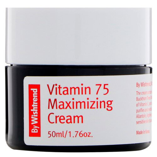 Wishtrend, Vitamin 75 Maximizing Cream, 1.76 oz Review