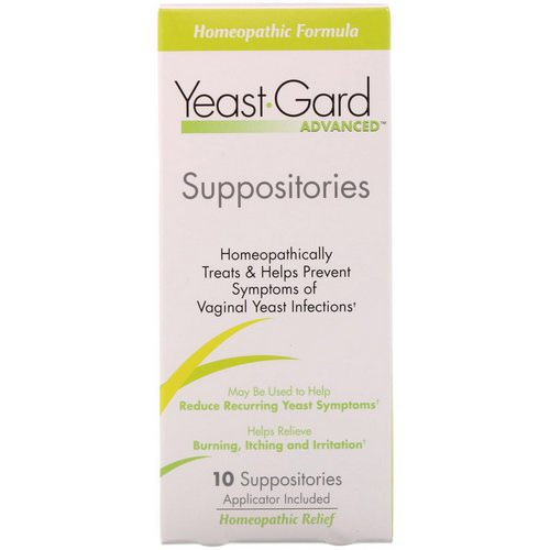 YeastGard Advanced, Yeast Gard Advanced Suppositories, 10 Suppositories Review