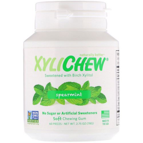 Xylichew, Spearmint, 60 Pieces, 2.75 oz (78 g) Review