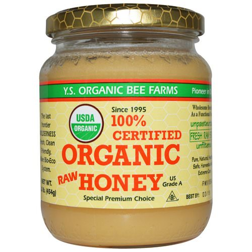 Y.S. Eco Bee Farms, 100% Certified Organic Raw Honey, 1.0 lb (454 g) Review