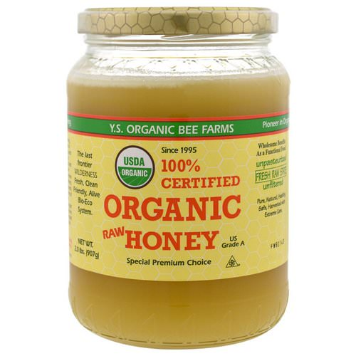Y.S. Eco Bee Farms, 100% Certified Organic Raw Honey, 2.0 lbs (907 g) Review