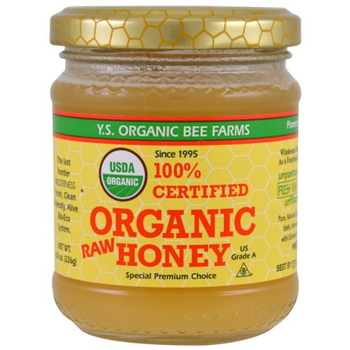 Y.S. Eco Bee Farms, 100% Certified Organic Raw Honey, 8.0 oz (226 g) Review
